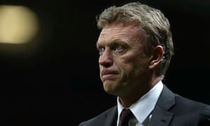 Manchester United are projecting an air of calm but their manager, David Moyes, is under pressure.