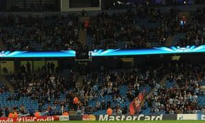 Manchester City empty seats