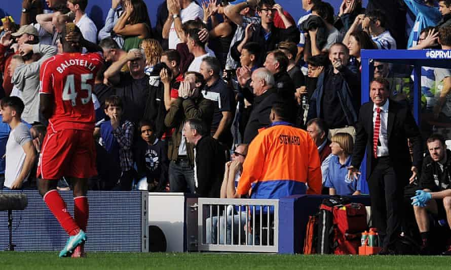 Mario Balotelli Brendan Rodgers Liverpool