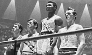 Cassius Clay wins gold at the Rome Olympics