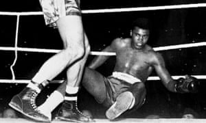 Cassius Clay is felled by Henry's Hammer in 1963