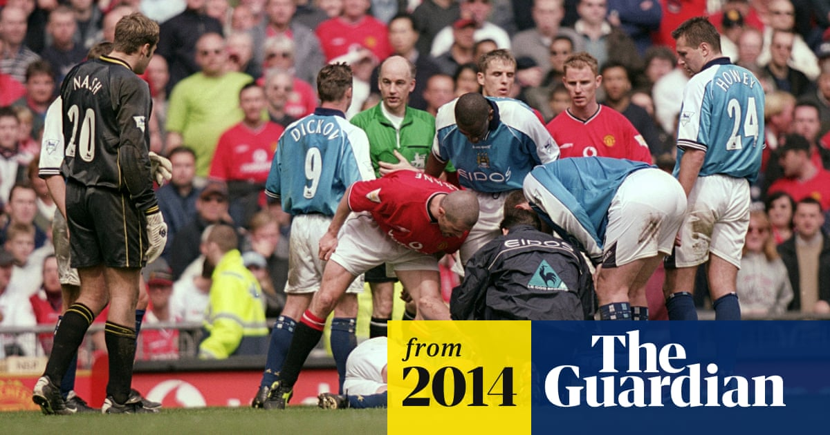 Roy Keane I Didn T Mean To Deliberately Injure Alf Inge Haaland Roy Keane The Guardian