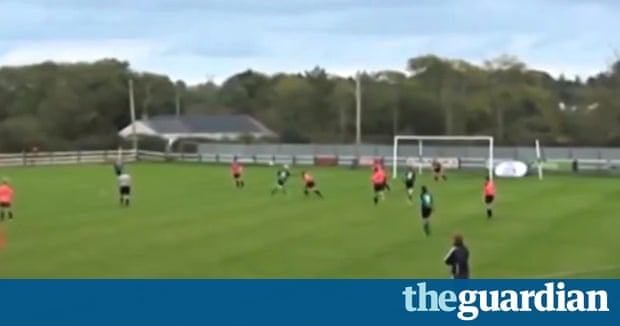 forget van persie or costa stephanie roche shoots for world s best goal football the guardian. Black Bedroom Furniture Sets. Home Design Ideas