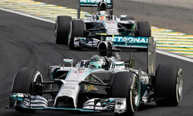 Nico Rosberg Lewis Hamilton Mercedes