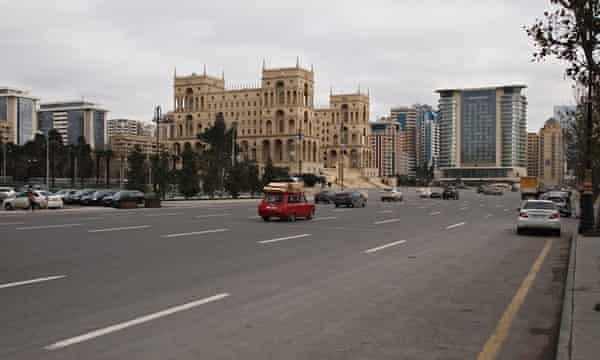 The streets of Baku.