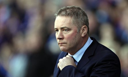 Ally McCoist has been placed on gardening leave by Rangers