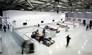 Red Bull factory