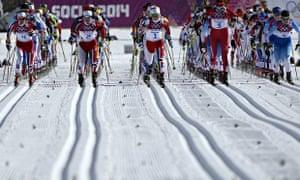 Women's cross-country skiing