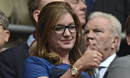 Trailblazing women such as Karren Brady, the West Ham vice-chair, are very much in the minority.