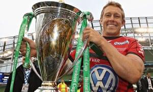 Jonny Wilkinson of Toulon, Heineken Cup win 2013