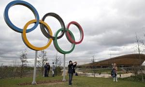 Queen Elizabeth Olympic Park in east London