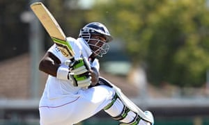 Michael Carberry in action for England during the recent Ashes series in Australia