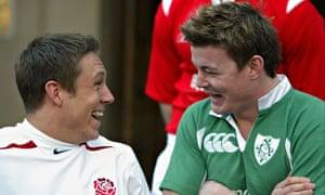 Jonny Wilkinson and Brian O'Driscoll