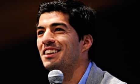 Luis Suarez New Ambassador for 888poker Press Conference