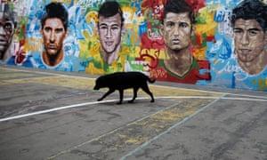 Mario Balotelli, Lionel Messi, Neymar, Cristiano Rona