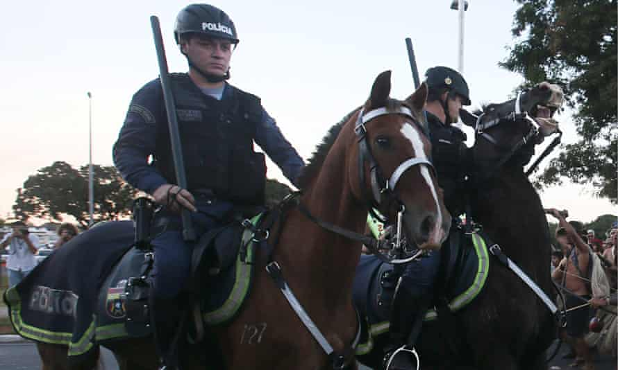 At the World Cup hi-tech security measures will supplement more traditional policing methods.