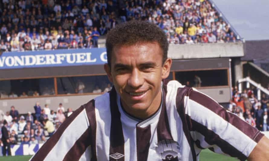 Mirandinha spent two seasons in the black and white of Newcastle United in the late 1980s.