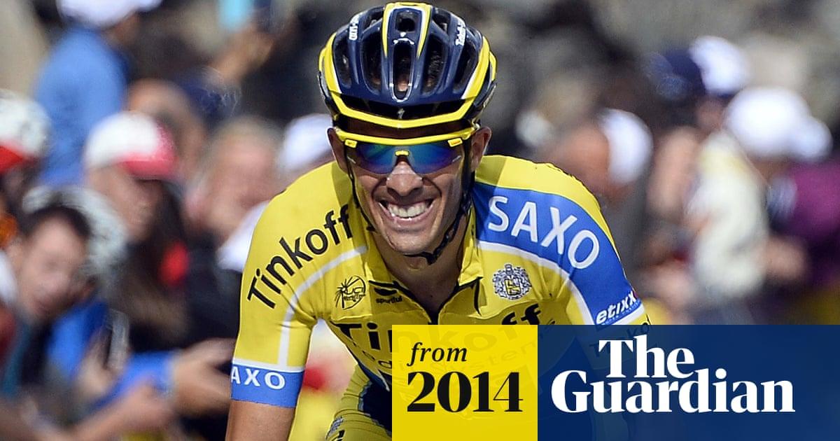 Alberto Contador Takes Crit 233 Rium Du Dauphin 233 Lead From
