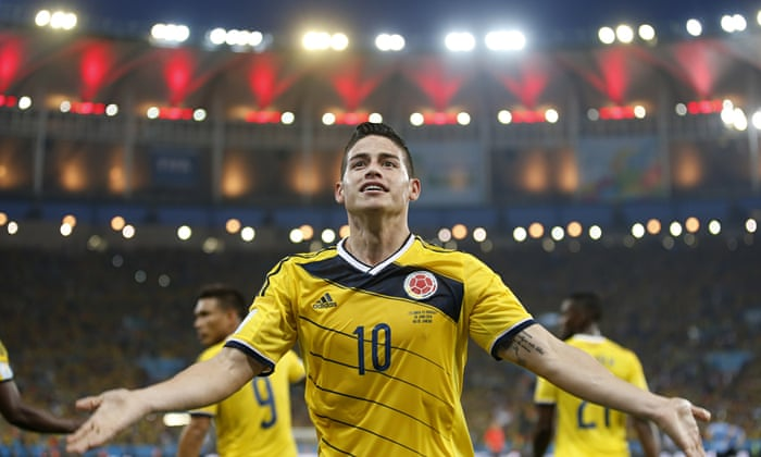 purchase cheap 41dac adb8f World Cup 2014: James Rodríguez confident Colombia can beat ...
