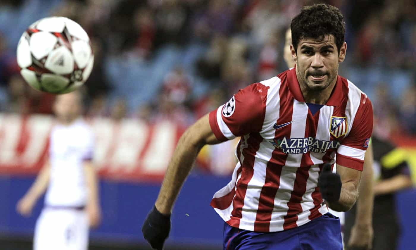 Diego Costa completes medical ready for £32m move to Chelsea
