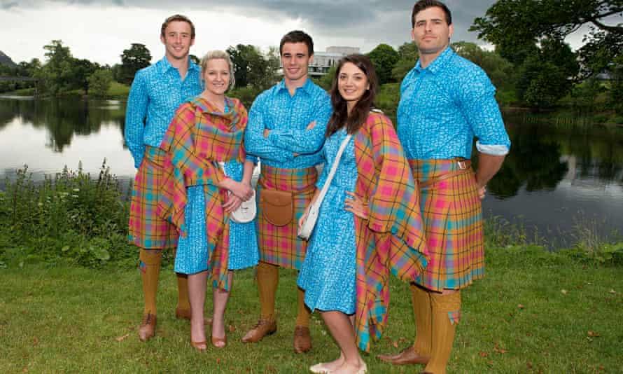 Team Scotland Commonwealth Games uniforms