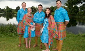 Team Scotland Commonwealth Games uniform