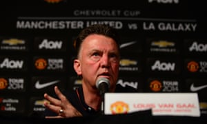 Louis van Gaal has complained the club's US tour is draining on his players.