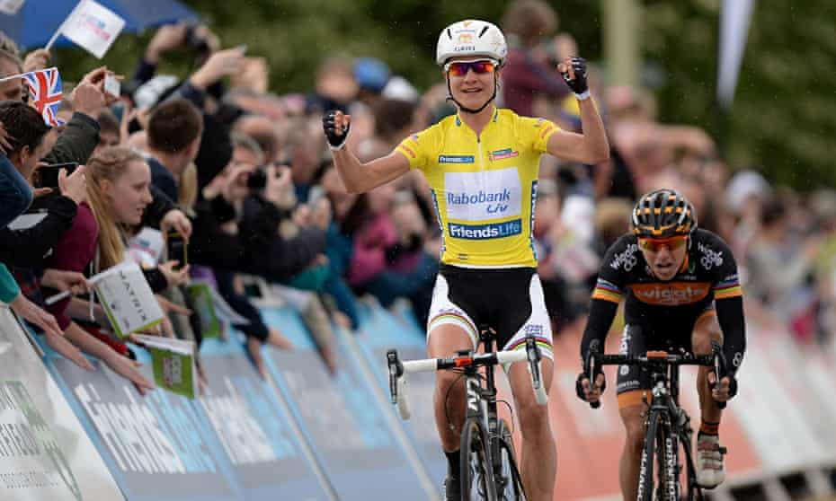 Marianne Vos hopes that La Course, the 90 km race on Sunday, will boost women's cyclng