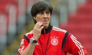 Joachim Löw has been living in a bubble in Brazil, oblivious to the doubts and demands in Germany.