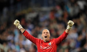 Willy Caballero worked with Manchester City manager Manuel Pellegrini at Malaga