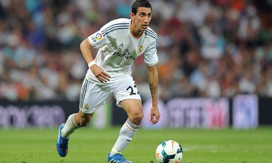 Manchester United want Real Madrid winger Angel Di Maria.