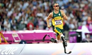 Oscar Pistorius paralympics 2012