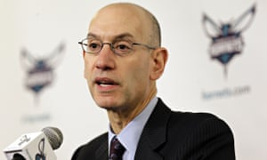 Adam Silver looking very bored