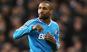 Jermain Defoe in action for Sunderland