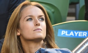 Kim Sears sits stony faced during Andy Murray's Australian Open semi-final against Tomas Berdych