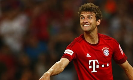 Thomas Müller made his debut for Bayern Munich in 2008