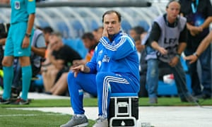 Marcelo Bielsa during his time in charge of Marseille