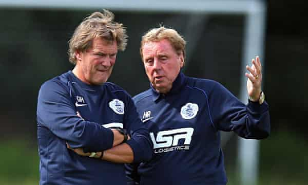 Glenn Hoddle Reveals Qpr Exit Was Act Of Loyalty To Harry Redknapp Football The Guardian