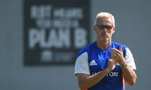 England Nets Session Peter Moores