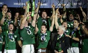 Ireland's dramatic Six Nations triumph in Paris in 2014