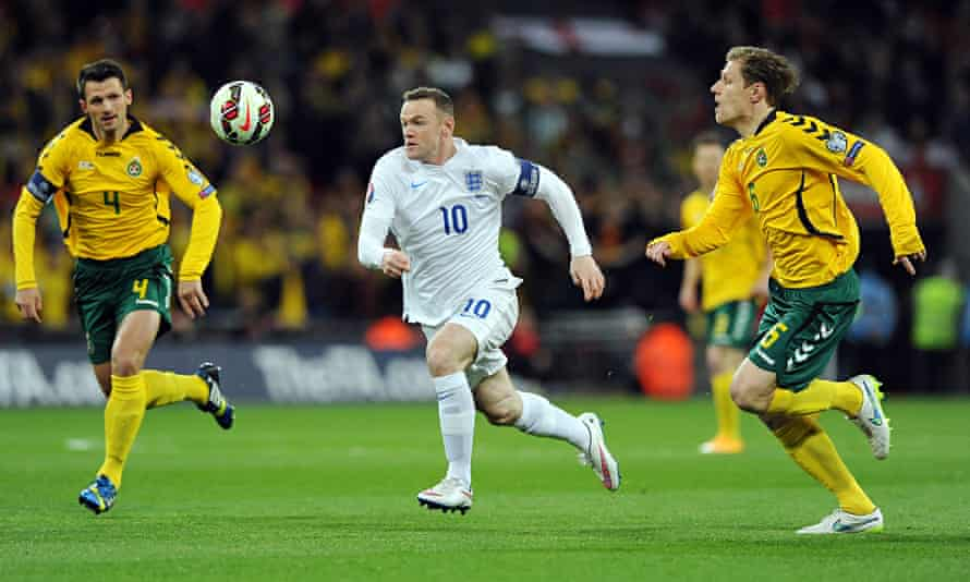Wayne Rooney, pictured in the win over Lithuania, wants opposition sides to fear playing against Eng