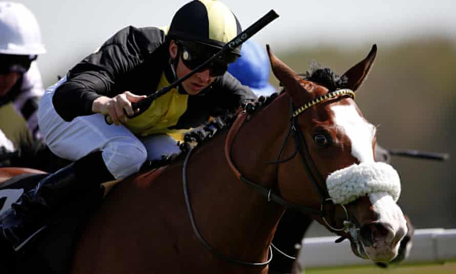 Newbury Races Victoria Pollard