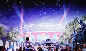 Announcement on future of the Olympic Stadium