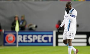 Yaya Touré suffered racism abuse while playing for Manchester City against CSKA Moscow in 2013