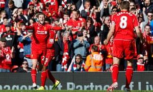 Liverpool v Crystal Palace - Barclays Premier League