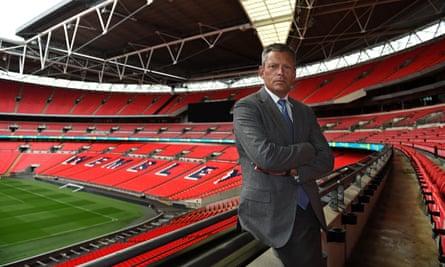 CEO Martin Glenn of The FA