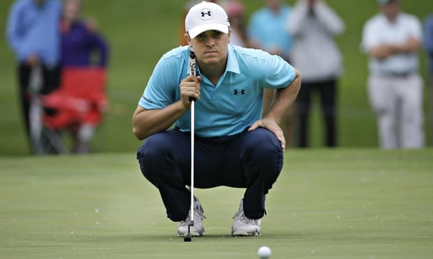Jordan Spieth shares four-way lead at Crowne Plaza Invitational
