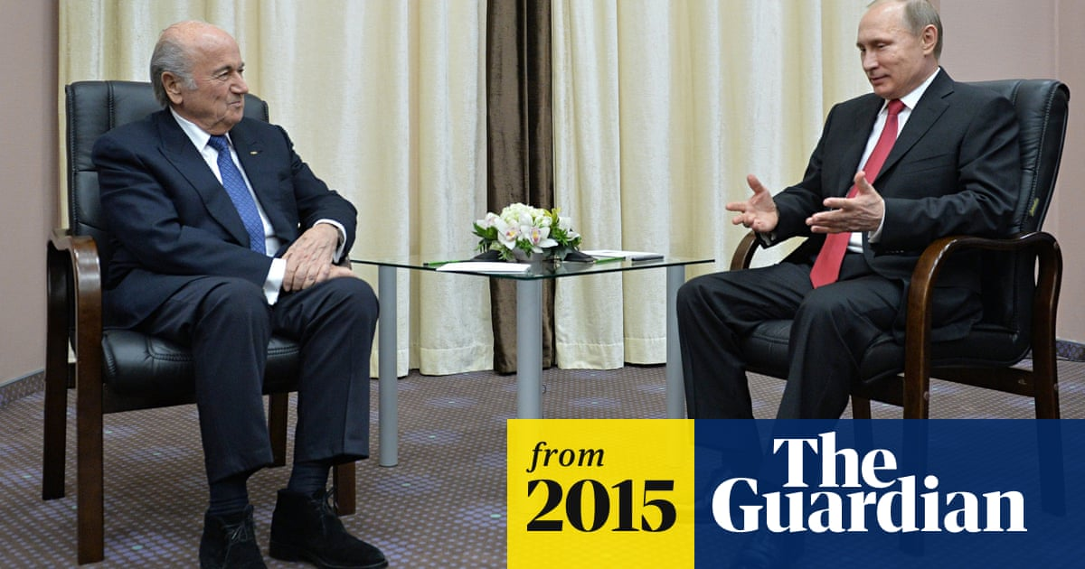 Russia S Vladimir Putin Accuses United States Of Meddling Over Fifa Arrests Fifa The Guardian