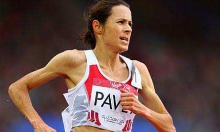 Athlete Jo Pavey