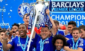 Chelsea lift the title